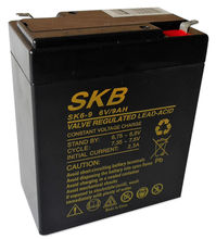 Bateria Chumbo 6V 9Ah (98 x 56 x 118 mm) - SKB