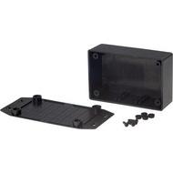 Caixa Preta em ABS com abas 108.5 x 53.8 x 30.5 mm - RND