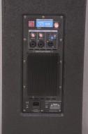 """Coluna Amplificada PRO 2X15"""" 2400W 4 Modos BT 15mm MDF BST"""