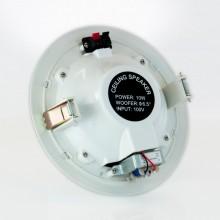 """COLUNA DE TETO 6.5"""" 10W C/ TRANSF. LINHA 100V"""