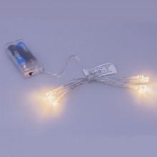 Conjunto 10 Luzes de Natal a Pilhas c/ Interruptor