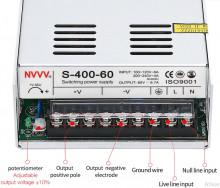 Fonte de Alimentação Comutada DC 60V 6.7A 400W