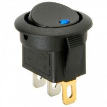 Interruptor Redondo 220V c/ Led Azul