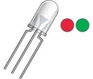 Led bicolor vermelho/verde 3 milimetros