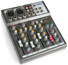 Mesa de Mistura 4 Canais c/ USB/SD/MP3