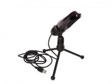 Microfone c/ Suporte p/ PC USB