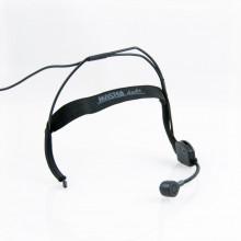Microfone de cabeça unidirecional dinamico