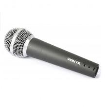 Microfone Dinâmico XLR (600 ohm) DM58 c/ cabo - VONYX