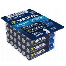 Pack 24x Pilhas 1,5V Alcalinas LR03 AAA - VARTA