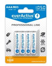 Pilhas Recarregáveis 1,2V AAA Ni-Mh 1000mAh - everActive