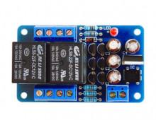 Placa de protecção DC e atraso para saída de amplificador Stereo - KIT