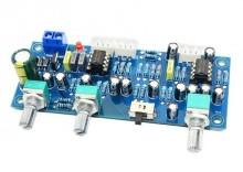 Pré-amplificador 2.1 canais subwoofer + Stereo + Fase