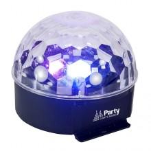 Projector esfera LED Multicolorida 6W