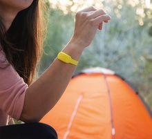 Pulseira Anti-Mosquitos de Citronela (Amarelo)