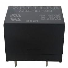 Relé 48V SPDT - AZ941-1CT-48D - ZETTLER