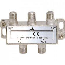 Spliter Derivador Terrestre 4 Vias 5-1000Mhz