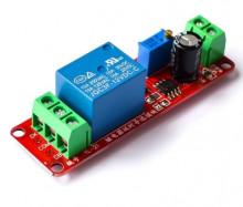 Temporizador simples regulável com relé 12V