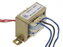 Transformador AC 9+9V 0.5 A