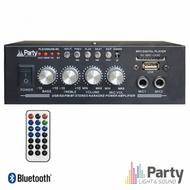 Amplificador Karaoke 2x50W 8-16 OHM 220V/12V USB/BT/FM