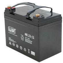 Bateria Chumbo 12V 33Ah (130 x 195 x 180 mm) - megaBAT