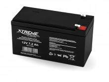Bateria de gel 12V 7,2Ah XTREME