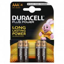 Blister 4 Pilhas Alcalinas 1,5V LR03 AAA - Duracell PLUS