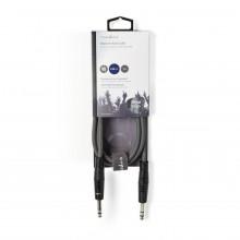 Cabo Profissional Jack 6,35mm Stereo Macho / Macho - 3 m