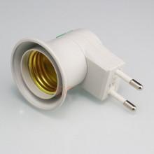 Casquilho Lampada E27 (grosso) p/ tomada 220V c/ interruptor