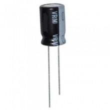 Condensador Eletrolítico Radial 10uF 25V