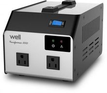 Conversor LCD 230<->110V 1000W (1000VA) - WELL