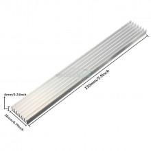 Dissipador Alumínio 150x20x6mm