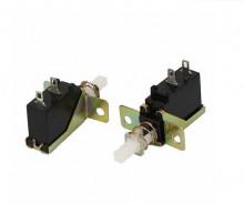 Interruptor comutador SPST duplo de pressão On / Off para Painel