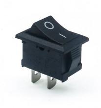 Interruptor Mini ON-OFF Preto 3A 250V