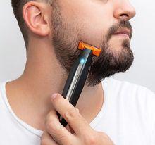 """Máquina """"3-EM-1"""" Aparar/Barbear/Cortar Recarregável"""