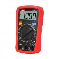 Multimetro Profissional Digital CAT ll 600V c/ Sonda de Temperatura - UNI-T UT33C+