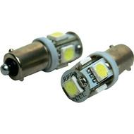 Par Lâmpadas LED SMD de carro 5 BA9S Canbus Branco (mínimos e piscas)