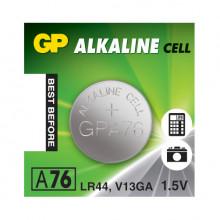 PILHA ALCALINA 1,5V LR44 / AG13 /V13GA / A76 - GP