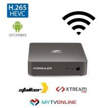 Receptor Full HD Televisão - IPTV Android HEVC/H.265 - FORMULER Z NANO