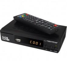 Receptor TDT HD DVB-T/T2 H.265 Display/Botões Frontais (O MAIS COMPLETO DO MERCADO)