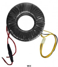 Transformador toroidal 24 0 24V de 120W 220V/230V