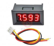 Voltímetro Digital com 4 digitos DC 0 V-100 V DC