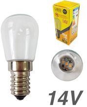 Lampada LED 14V E14 1,5W Branco Q. 3000K 70Lm - EDM