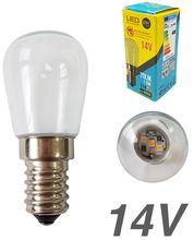 Lampada LED 14V E14 1,5W Branco F. 6000K 70Lm - EDM