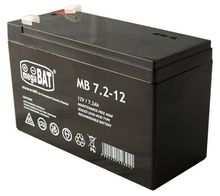 Bateria Chumbo 12V 7,2Ah (151 x 65 x 93 mm) - megaBAT