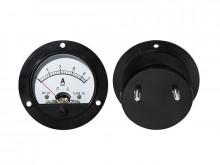 Amperimetro Painel 5A DC redondo