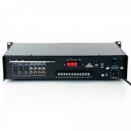 Amplificador de Linha 60W RMS - Misturador PA c/ Leitor MP3 e Rádio FM
