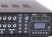 Amplificador de linha misturador de matriz PA com leitor de MP3 e BLUETOOTH