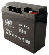 Bateria Chumbo 12V 17Ah (181 x 77 x 167 mm) - megaBAT