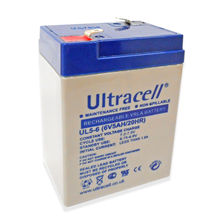 Bateria Chumbo 6V 5Ah (70x47x101mm) - Ultracell