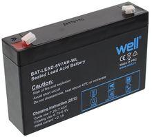 Bateria Chumbo 6V 7Ah (151 x 34 x 94 mm) - WELL